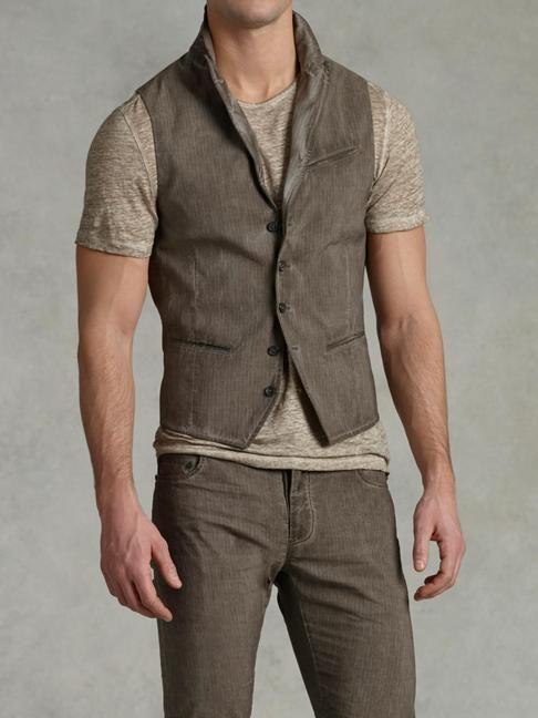 John Varvatos Peak Lapel Vest With Wire Insert | Men | Pinterest | John  varvatos