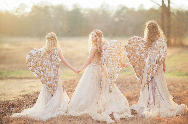 Angel Inspired Wedding