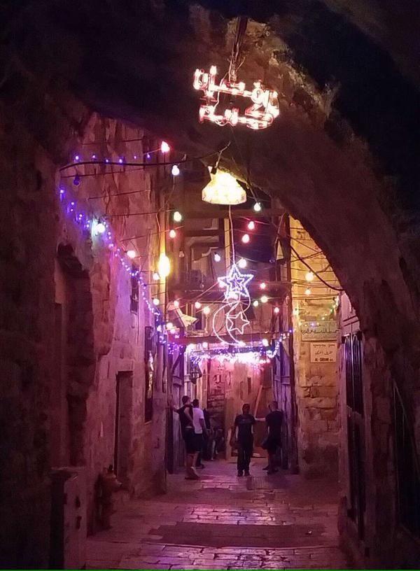 رمضان في القدس البلدة القديمة Night Aesthetic Night City Ramadan