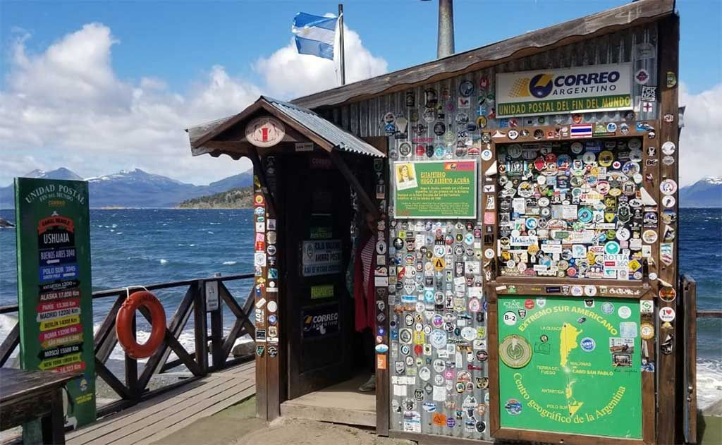 A Post Office At The End Of The World End Of The World Ushuaia Antarctic Circle