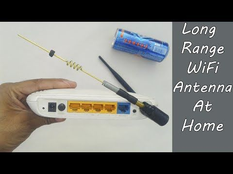How To Make Powerful Long Range Wifi Antenna At Home ...
