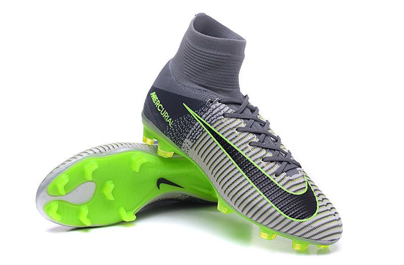 bc893b3be8df Nike Mercurial Superfly V FG Pure Platinum Black GhostGreen
