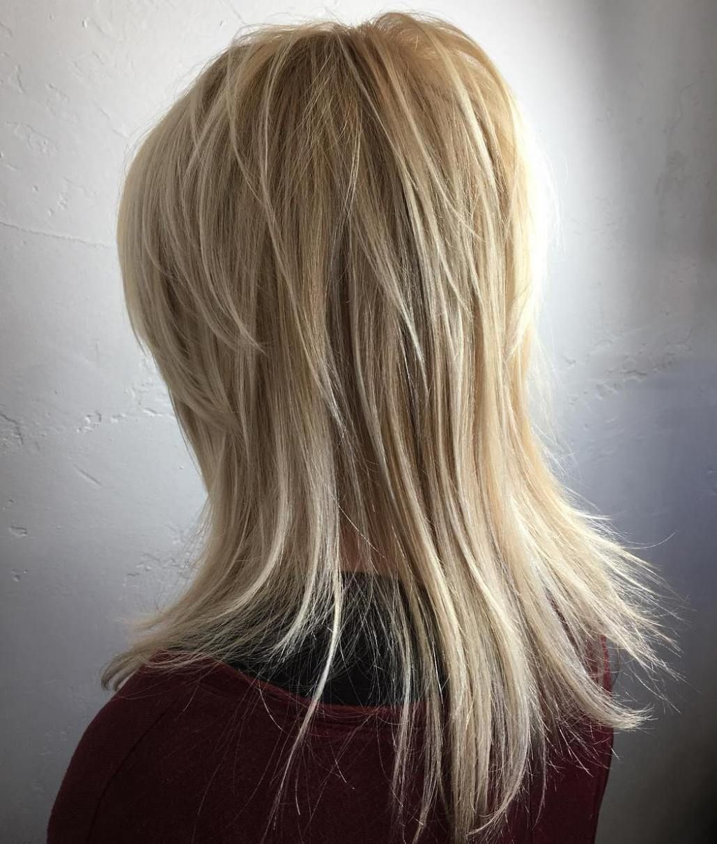 most universal modern shag haircut solutions blonde layers