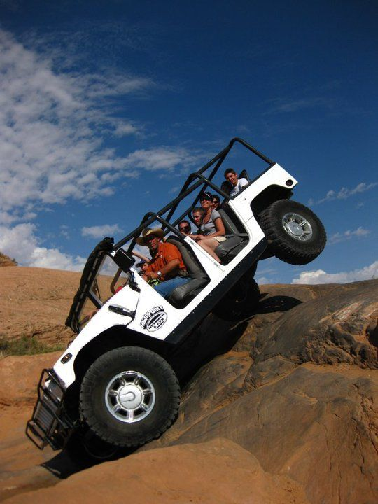 Moab Utah Hummer Moab Utah Blue Jeep Wrangler