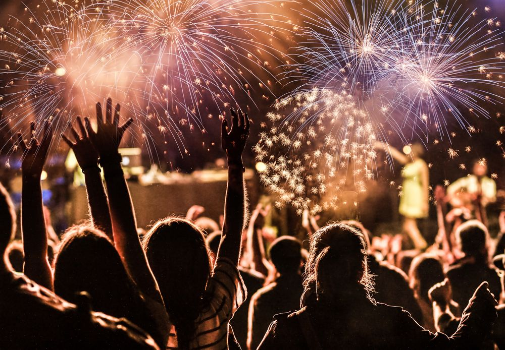NYC's Ultimate New Year's Eve Guide 2017 Feu d'artifice