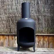 Hand made Decca Chiminea up-cycled from a 15kg gas bottle: