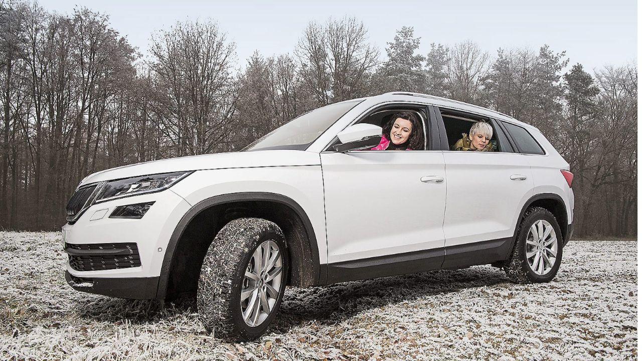 Autotest Mit Staatssekretärin Frau Bär Fährt Den Bär