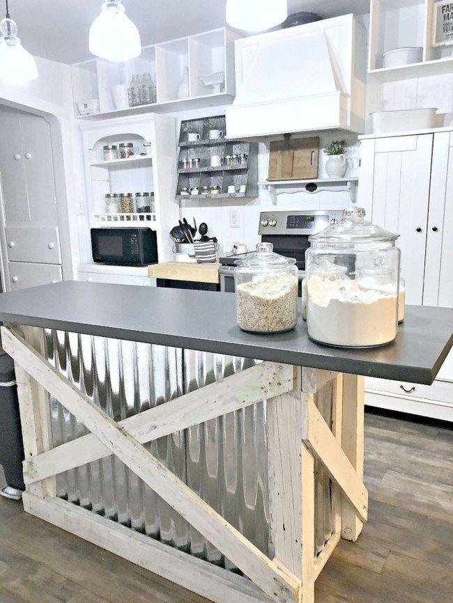 40 cute farmhouse kitchen decor ideas summer fun - Cute kitchen decorating themes ...
