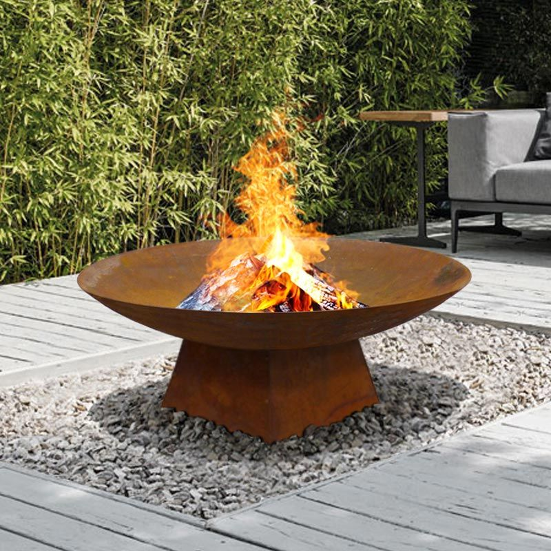 Marrakesh 80 Fire Pit Milkcan Outdoor Products Outdoor Fire Pit Fire Pit Backyard Outdoor Fire Pit Designs