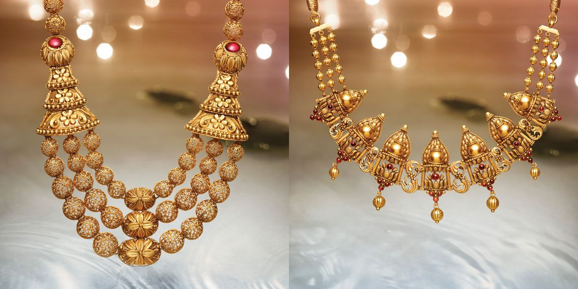 Divyam Tanishq Jewellery Handmade Gold Jewellery Classy Jewelry