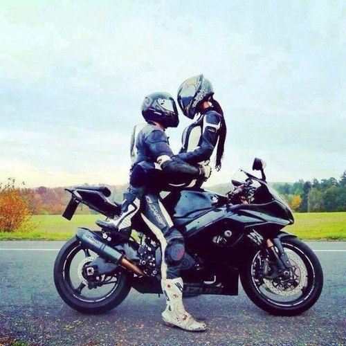 motorcycle couple pictures  Marry my best friend, buy one of these and ride... Just let the road ...