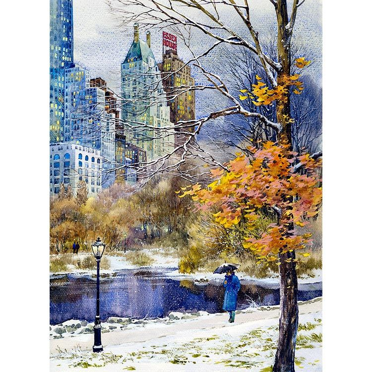 40 Central Park South Nyc: Boston Paintings, Painting