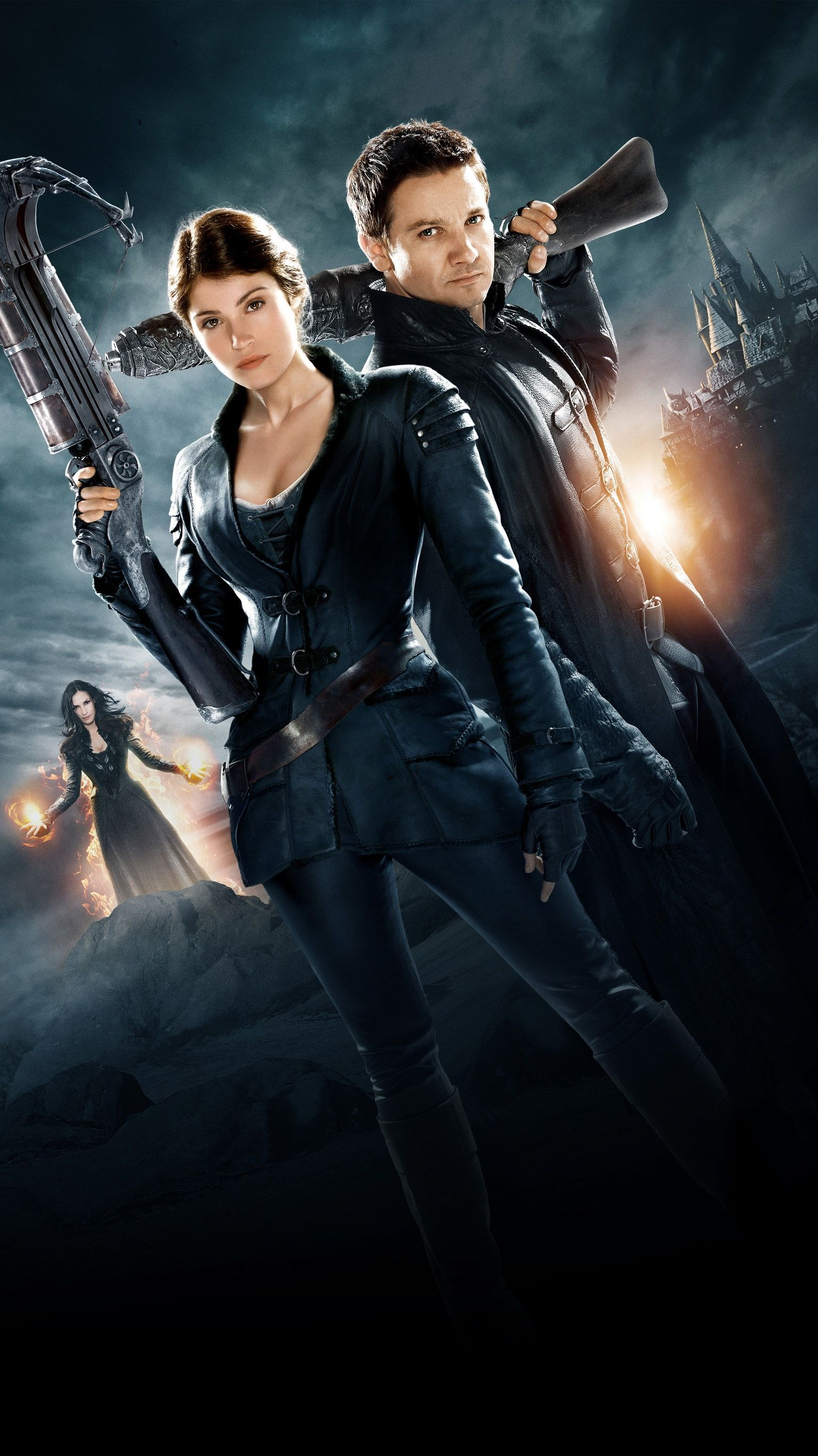 Hansel Gretel Witch Hunters 2013 Phone Wallpaper Moviemania Movie Covers Hunter Movie Full Movies Online Free