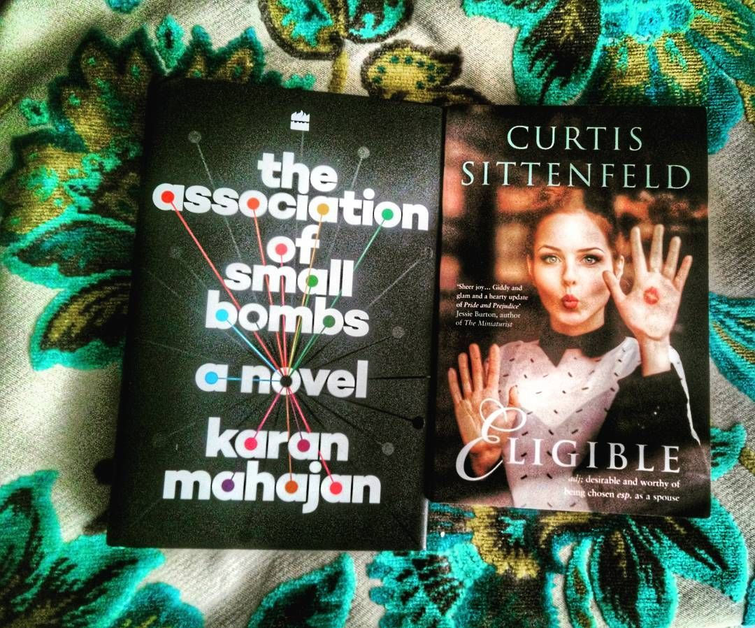 Ahhh  RIDICULOUSLY excited about these books that arrived in the mail today thanks to my kind friends at @HarperCollinsin. I have heard nothing but good things about The Association Of Small Bombs by Karan Mahajan especially since it turns out he's also a friend of a friend. Consistently on best books of 2016 lists (already!) and a novel based in Delhi  I've been itching to get my hands on it. As for Curtis Sittenfeld I'd read a menu if she wrote it and I have all her books AND this is a…