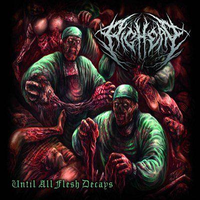 Music Extreme Pighead Releases Until All Flesh Decays Pighea Pighead Metal Deathmetal Musicextreme Brutal Germany Death Metal Album Cover Artwork