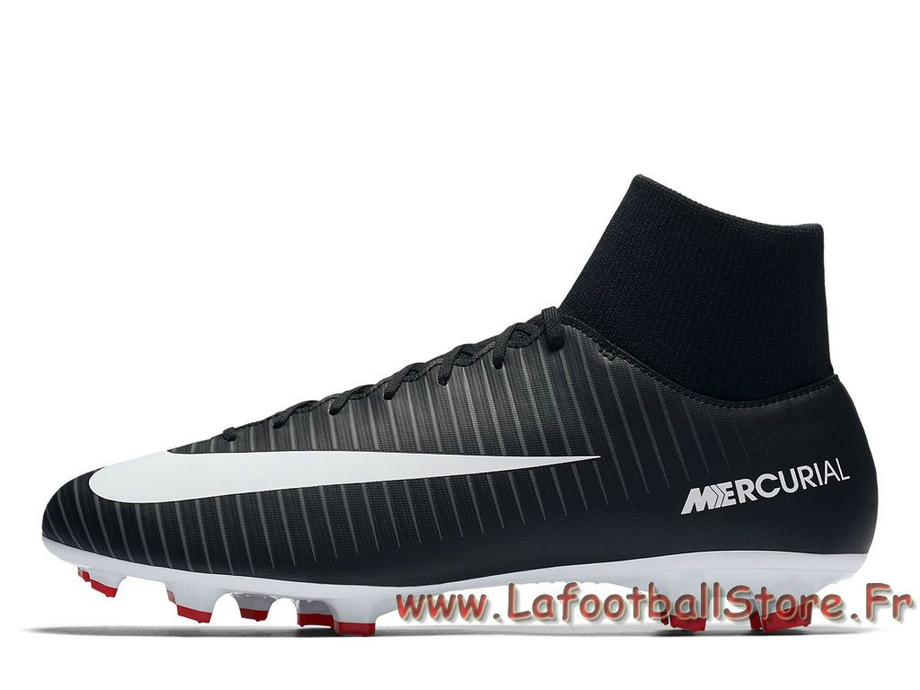 Nike Mercurial Victory VI Dynamic Fit FG Noires 903609  Chaussure