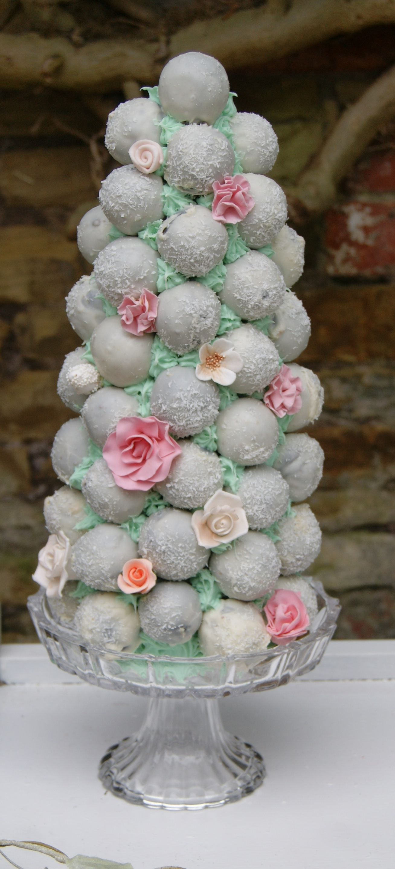 cake pop ideas wedding shower%0A Cake pop Tower by The Whimsical Cake Company in The UK
