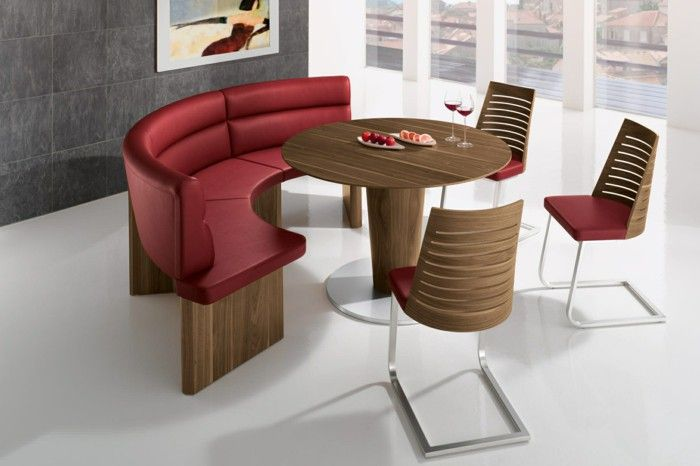 modern sitzgrupe for the restaurant and dining room