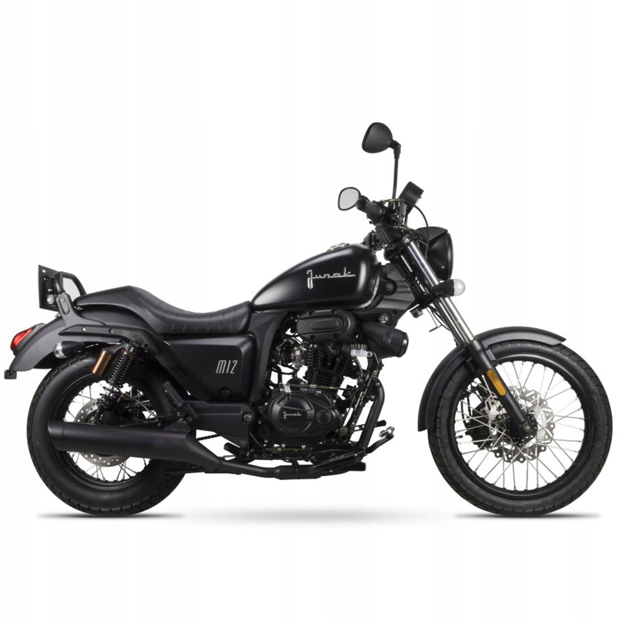 Junak M12 Vintage Pierwszy Motocykl Motorcycle Bike Vehicles