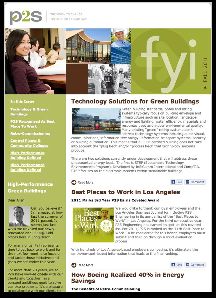 Newsletter Design Samples design newsletters - G...