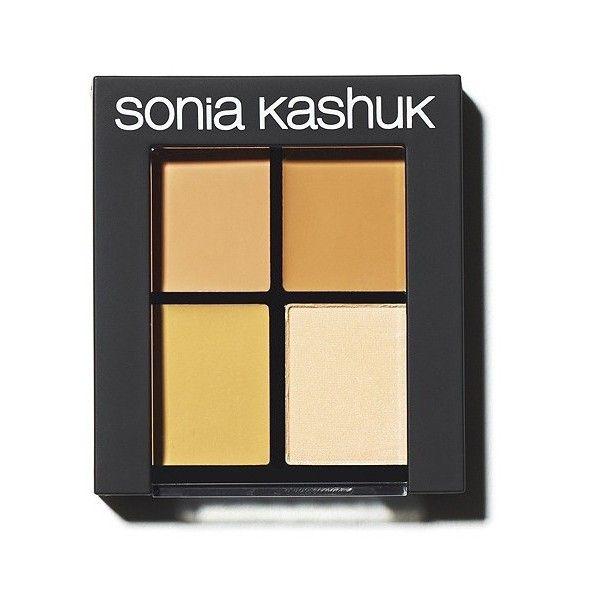 Sonia Kashuk Hidden Agenda II Concealer Palette - Medium ($10) ❤ liked on Polyvore