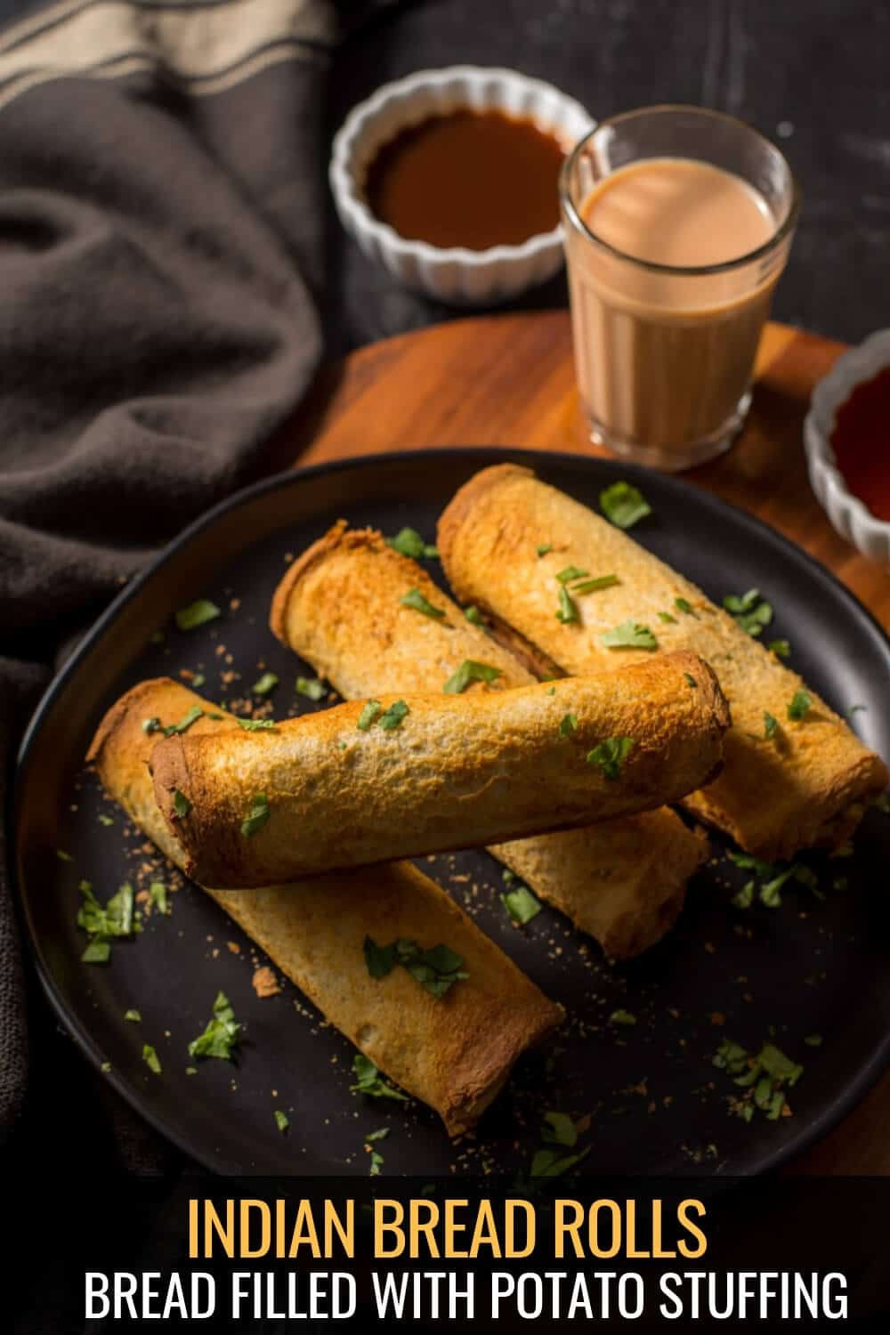 Air Fryer Indian Bread Roll Recipe in 2020 Recipes