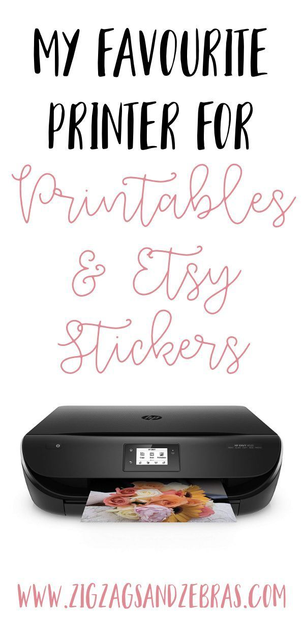 My Favourite Printer for Printables & Stickers | HP Envy 4520