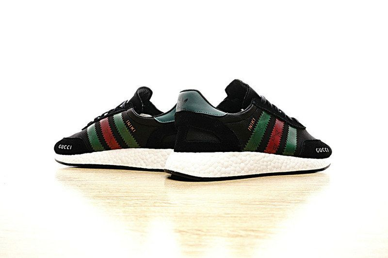 more photos 34451 6270a Gucci x Adidas Iniki Runner Black 2017 Retro. Newest Adidas Running Shoes  ...