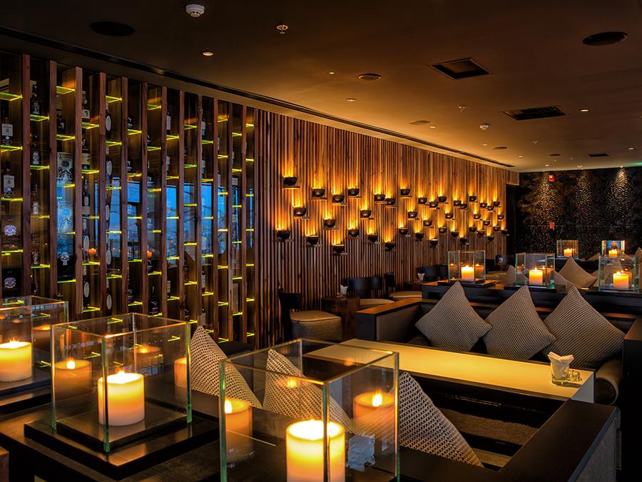 Sorae sushi sake lounge ho chi minh city vietnam architecte dintérieur