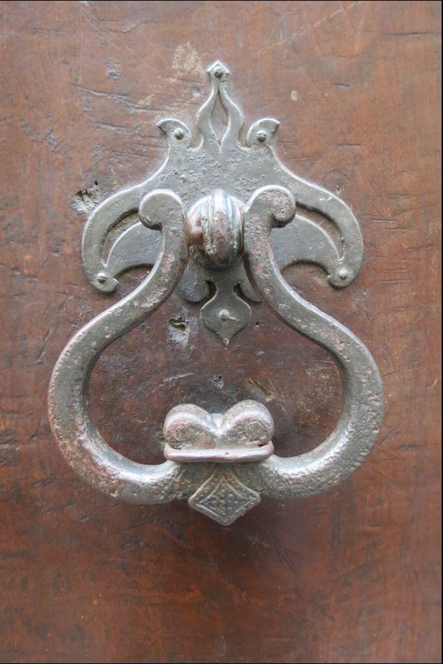 Door Handle in Florence, Italy