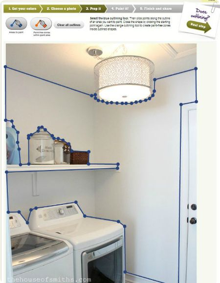 Color my Room with MyColortopia by Glidden house Pinterest