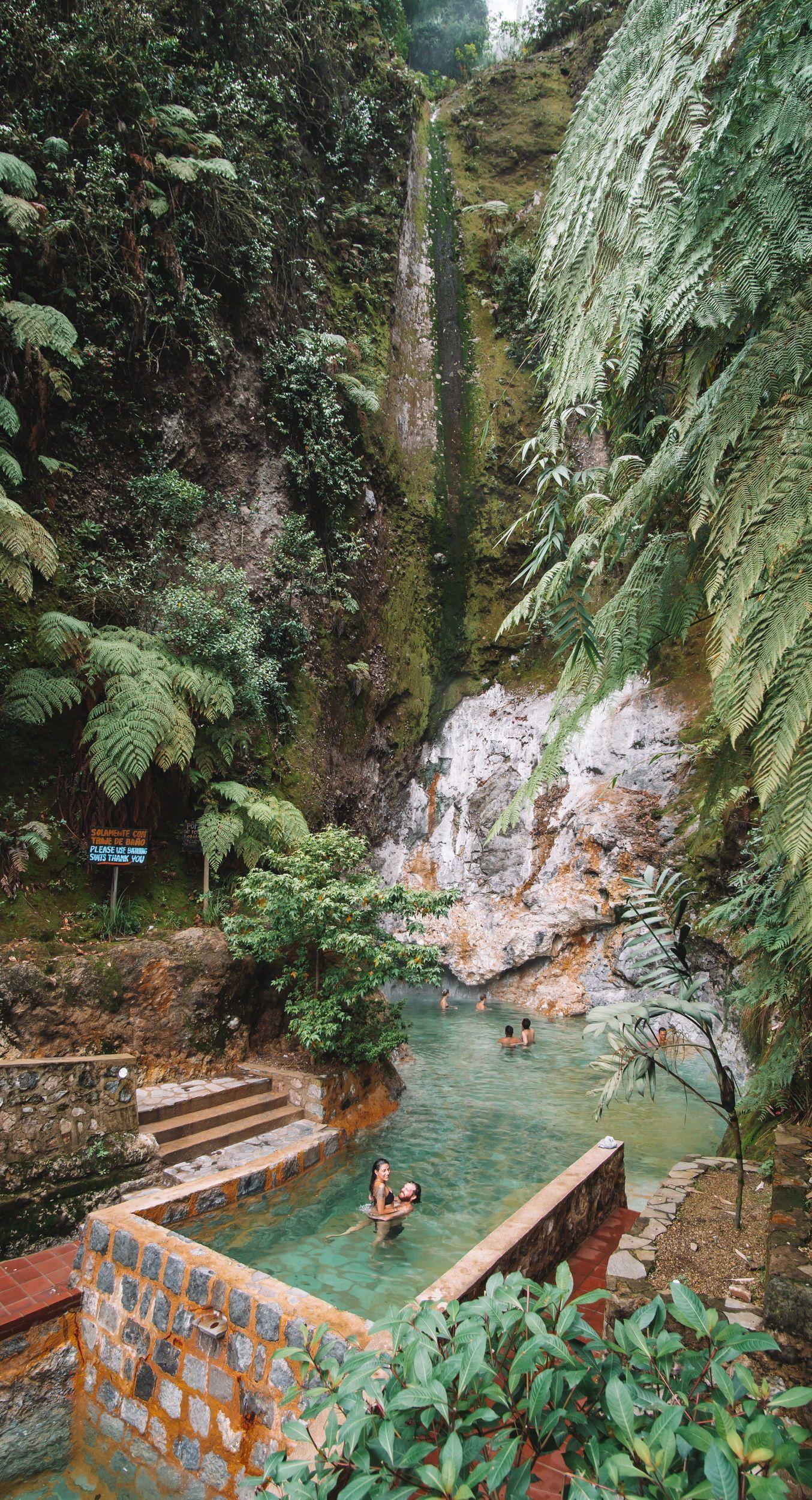 Photo of Fuentes Georginas Hot Springs – Guatemala