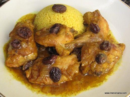 Conejo Ras El Hanout Comida árabe Recetas De Conejo