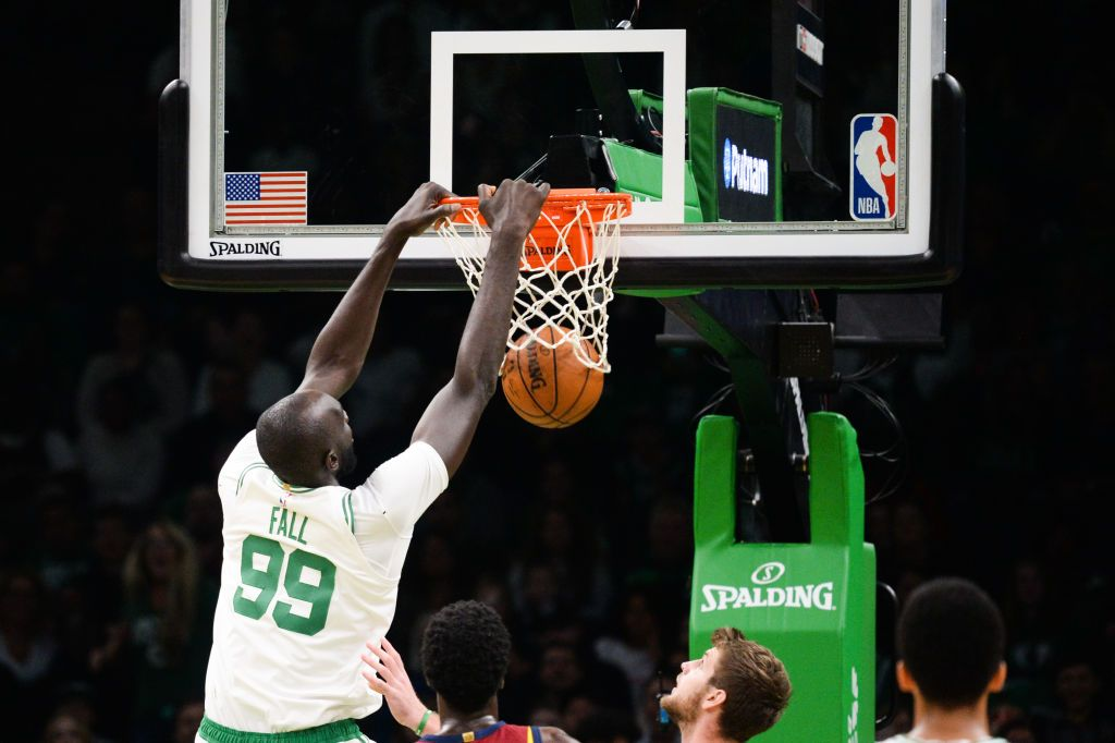 Tacko Fall impersonation by Enes Kanter National