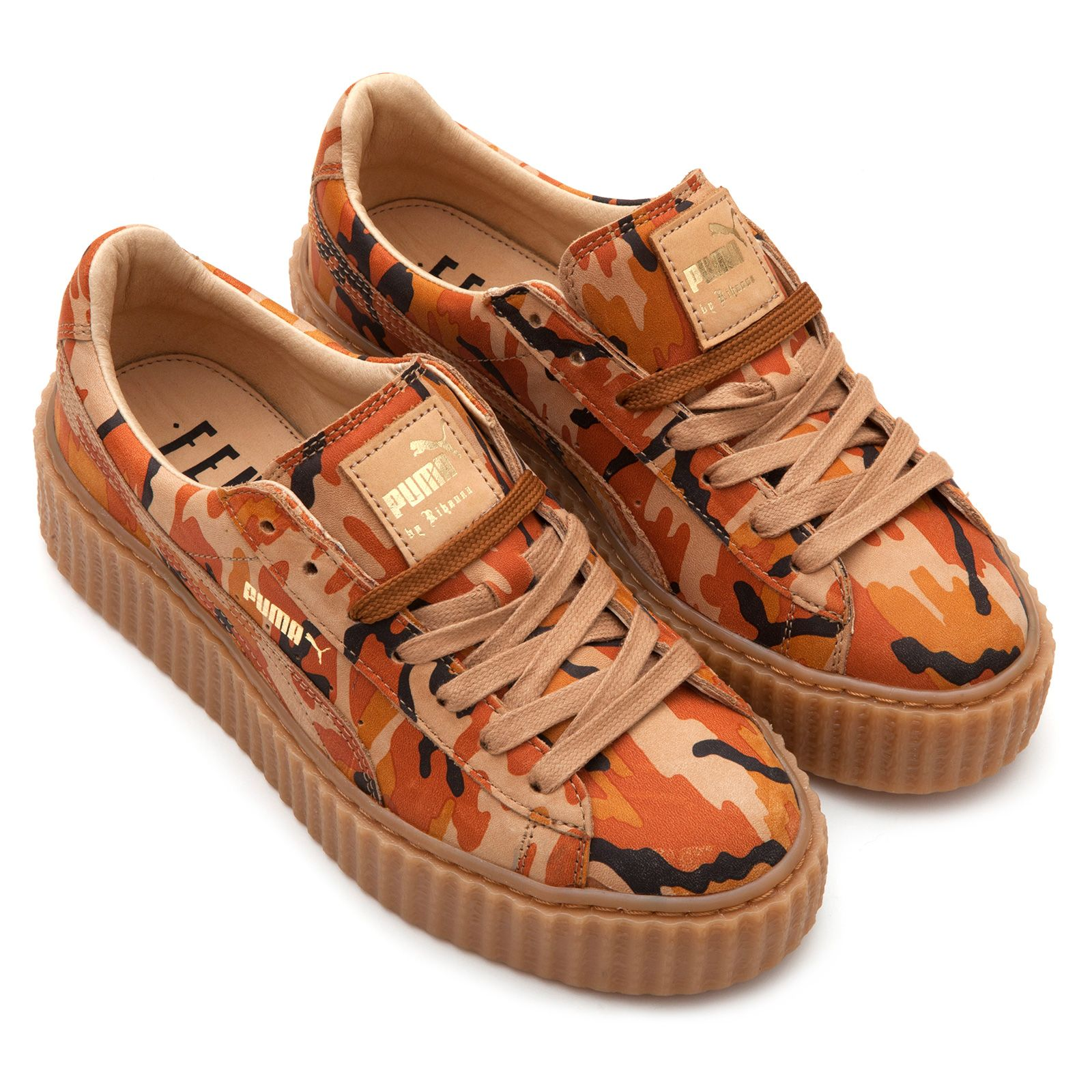 competitive price bd1ea d658a Creeper Suede Camo by Rihanna | SHOEPORN | Rihanna shoes ...