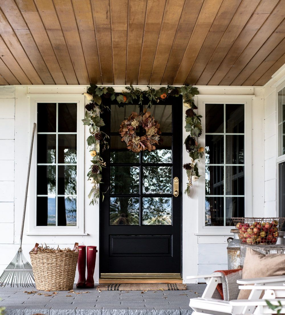 15 Amazing Ideas To Decorate Your Bedroom: 15 Fall Front Porch Decorating Ideas