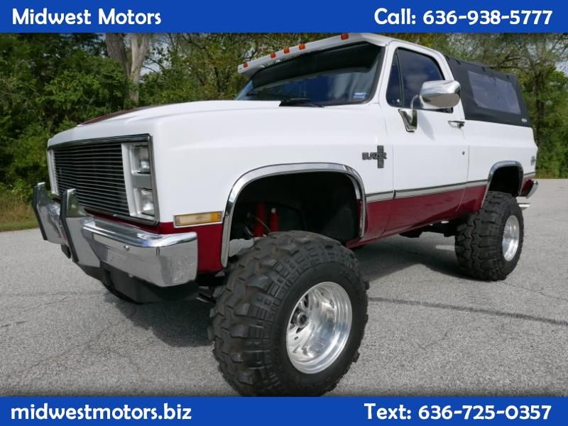 Used 1988 Chevrolet Blazer 4x4 For Sale In St Louis Mo 63025