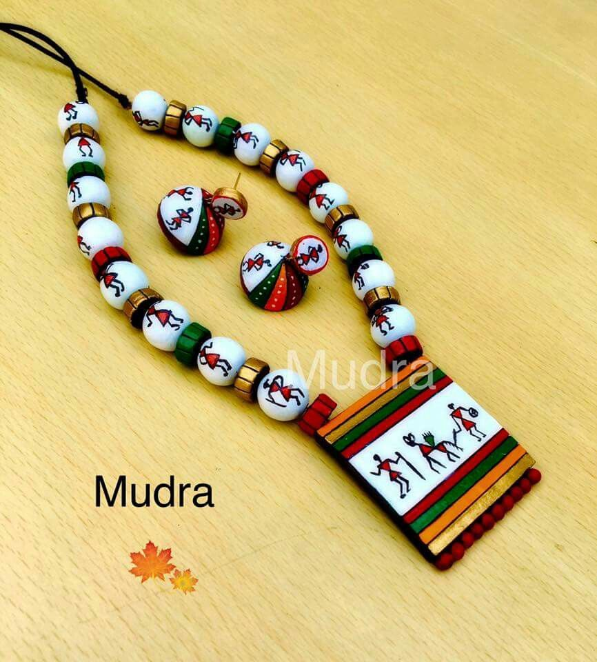Most Beautiful Art For Reference Handmade Jewelry Designs Clay Jewelry Diy Terracotta Jewellery Designs