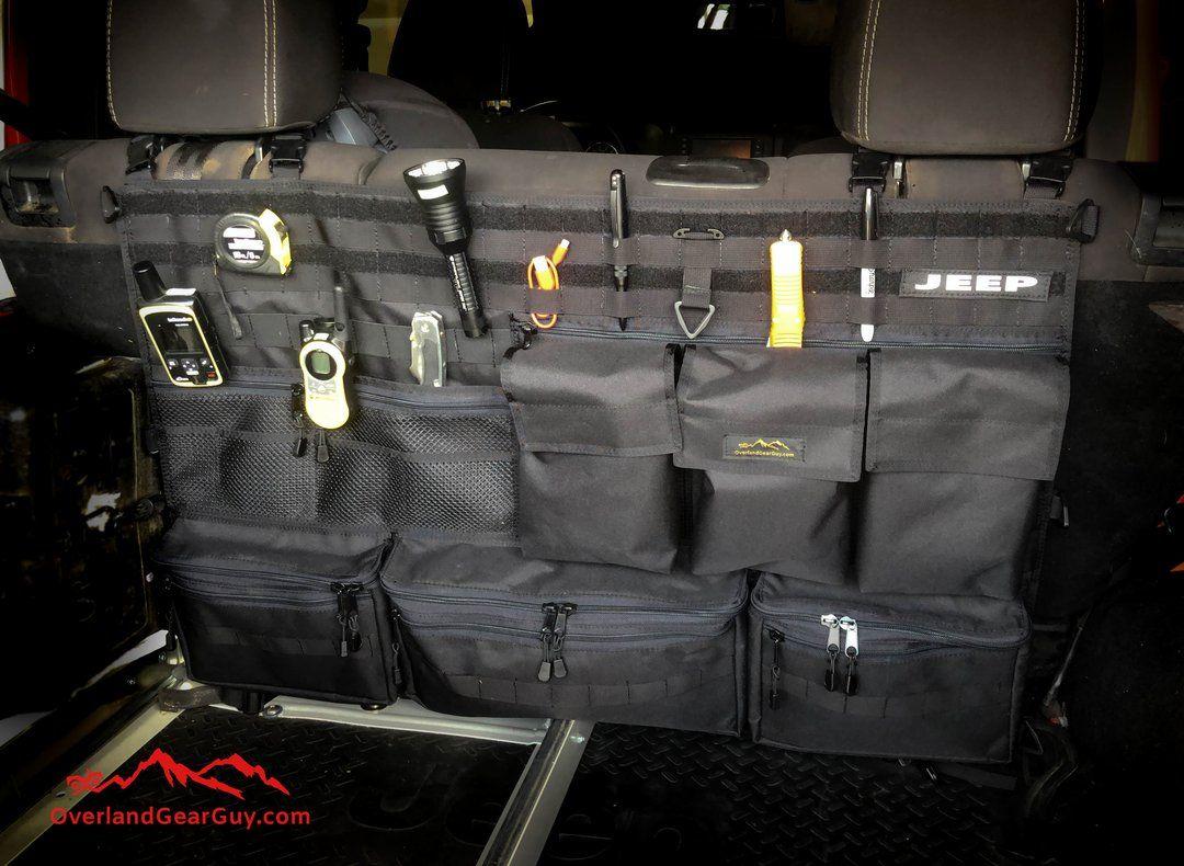 Jeep Rear Organizer Jeep Accessories Overland Gear Jeep Gear