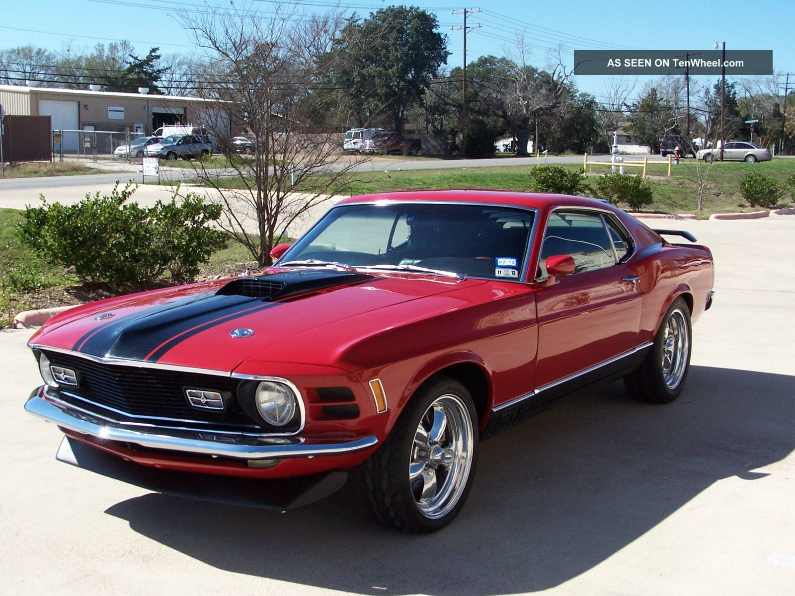 1970 ford mustang mach i 5 8l mustang photo