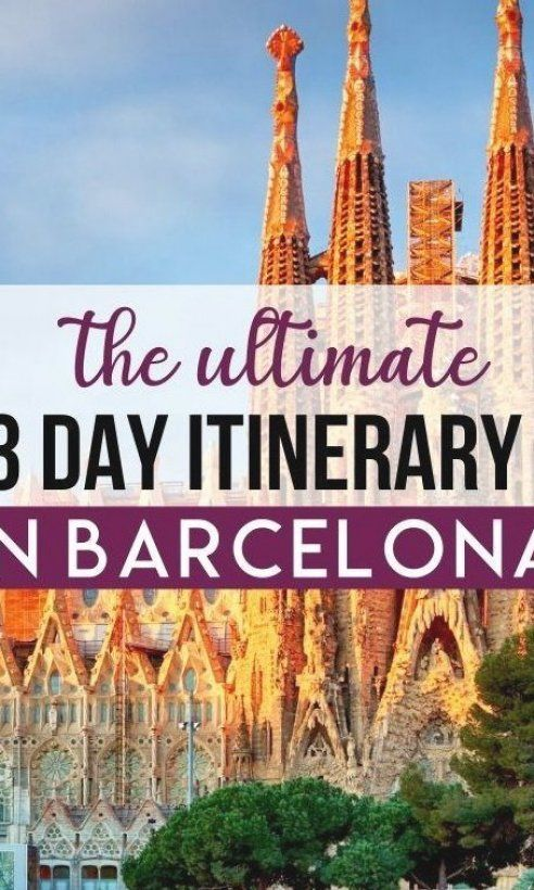 Looking for the perfect 3 Day Barcelona Itinerary  Well  this is it  You could easily spend weeks in Barcelona but 3 days in Barcelona is just enough time to get a flavor of what this city has to offer  This post will help you plan your trip to Barcelona   Barcelona things to do in   Barcelona aesthetic   Barcelona Spain   Barcelona Spain Photography   Barcelona photography   Barcelona soccer   Barcelona Spain aesthetic   Gaudi Barcelona   Sagrada Familia Barcelona   places to visit in Barcelona