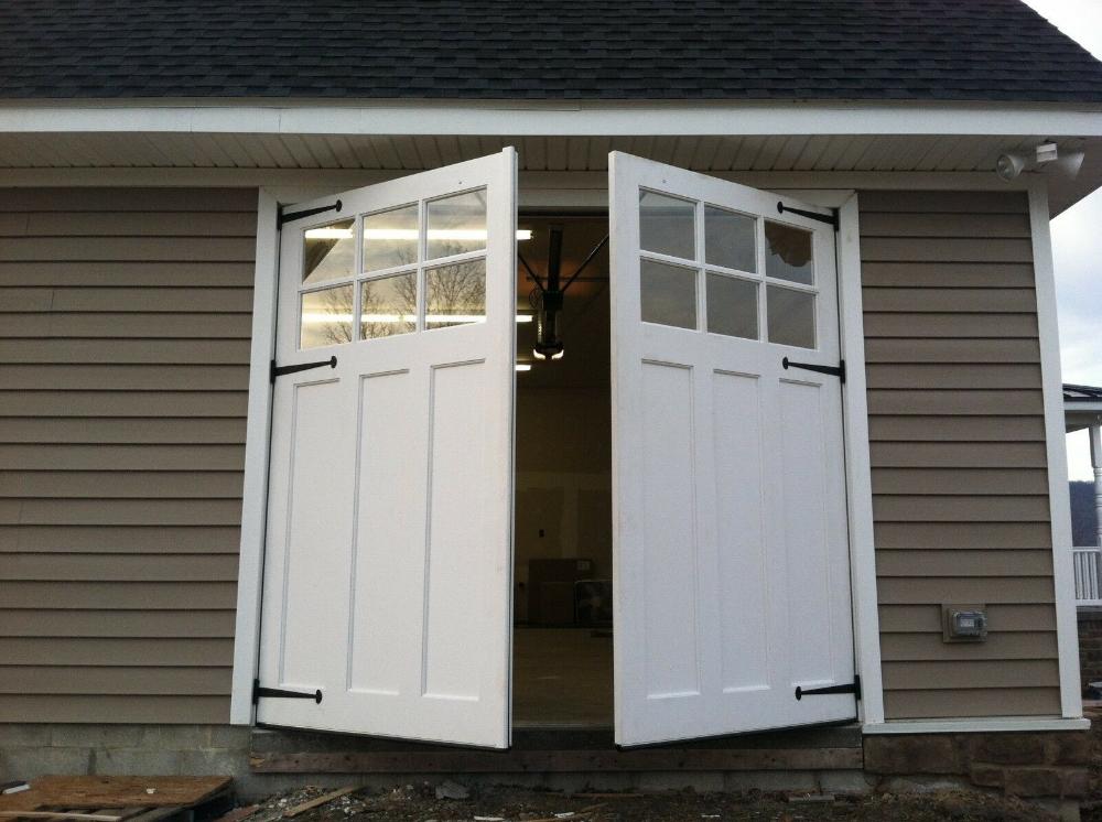 Carriage Doors Custom Swing Out Garage Doors Low Maintenance No Painting Ebay Swing Out Garage Doors Carriage Garage Doors Carriage House Garage Doors