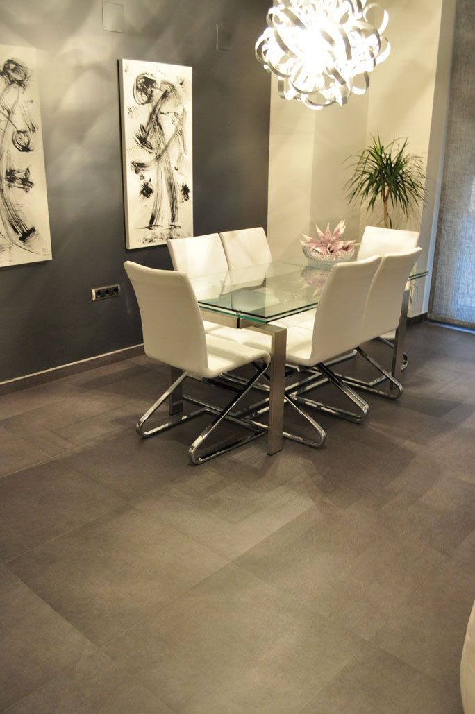 Floor And Decor Tile Class Inalco #class Series #porcelain In #antracita #colour In A #house