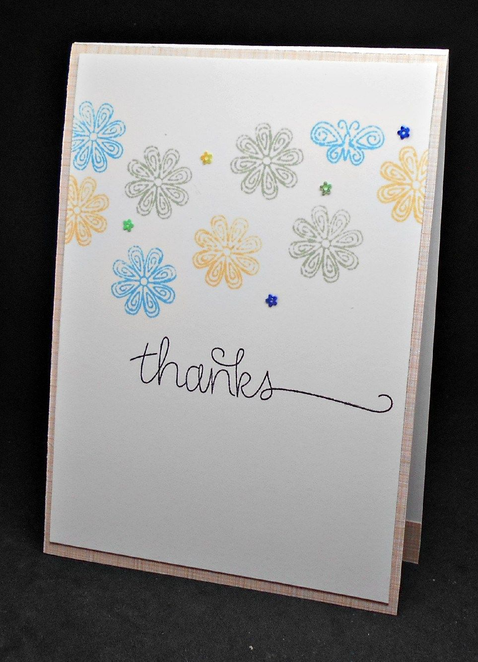 Thanks Butterfly Ginadapooh Store Thank You Cards Pinterest