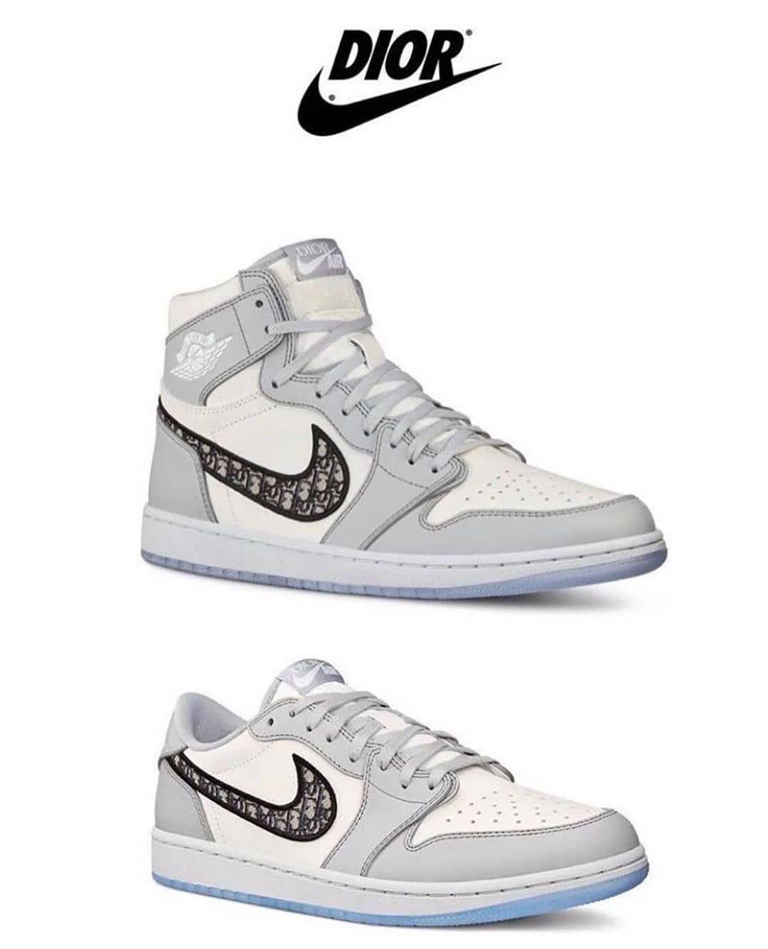 chaussure nike jordan dior