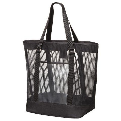 Women's Solid Striped Mesh Beach Tote Handbag | DIY, CRAFTS, HOME ...