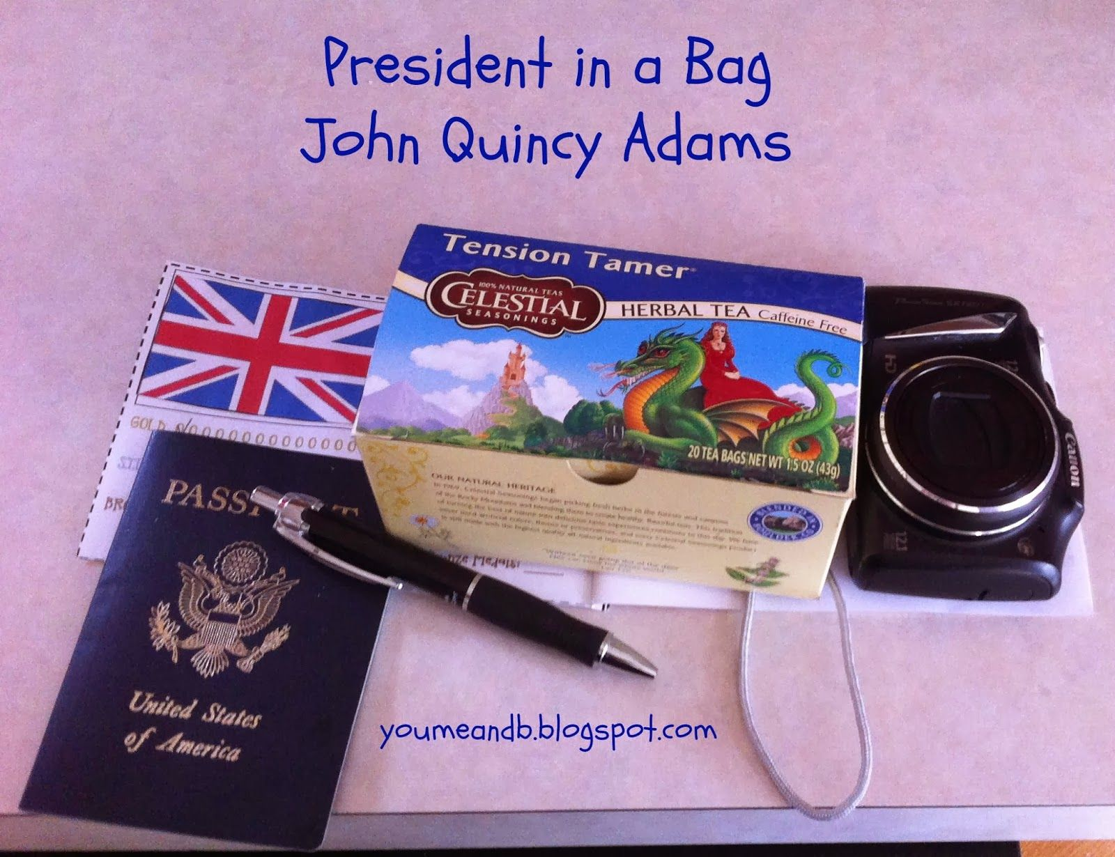 President In A Bag Series Read About The 5 Items B Chose