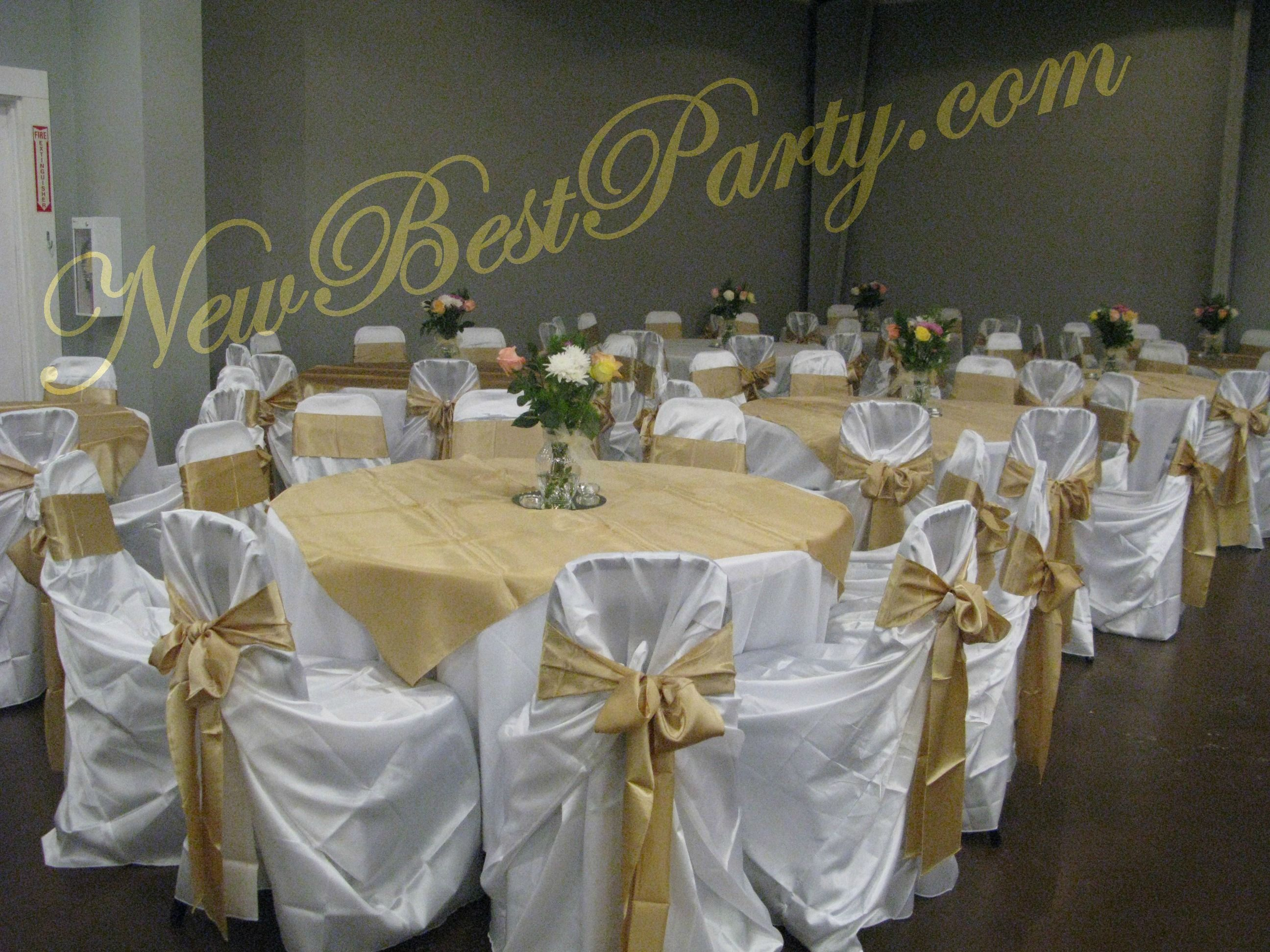 654e76c109a5d9 Champagne   white linen  weddings  linen  bestparty  newbestparty ...