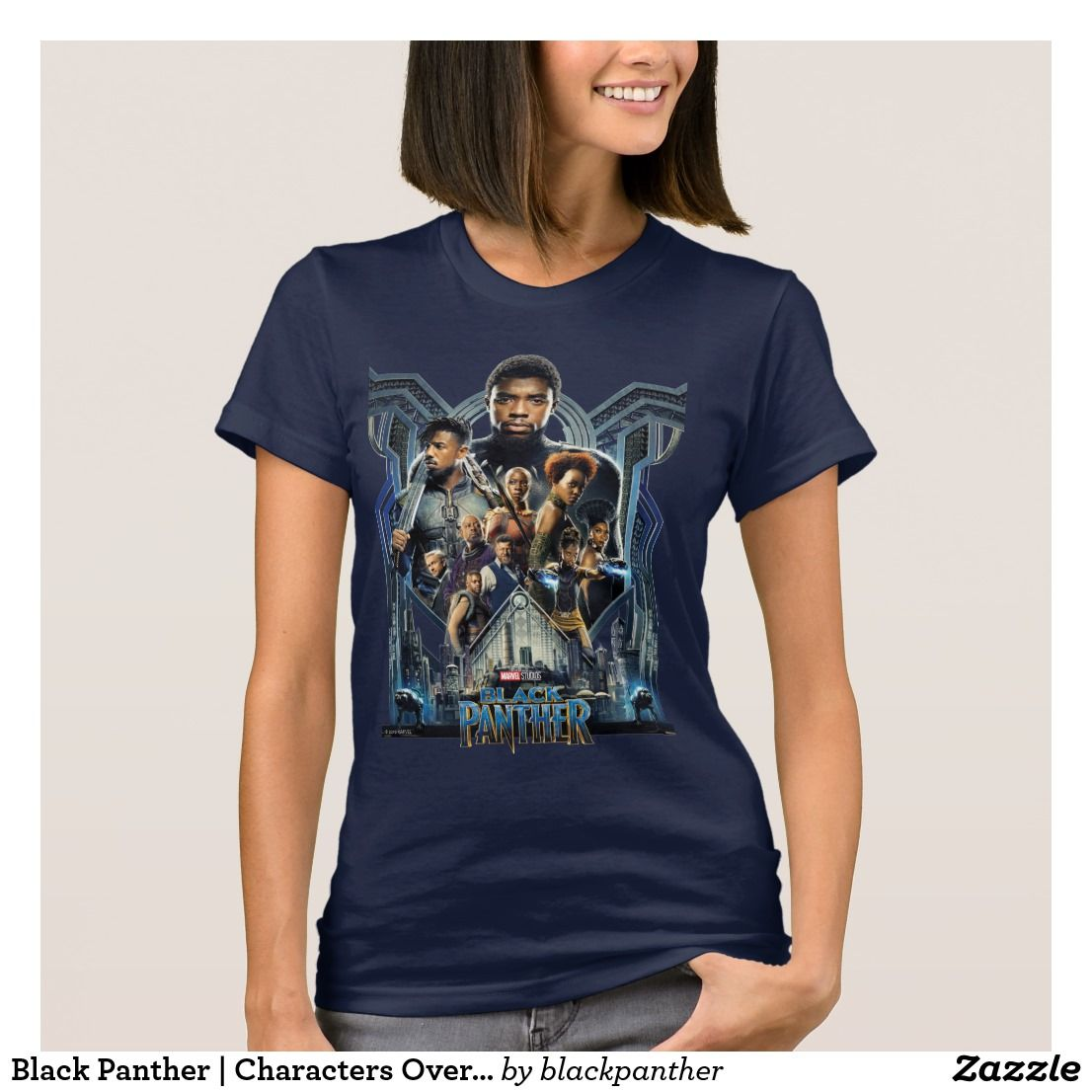 be9badba5 Black Panther | Characters Over Wakanda T-Shirt. Must have awesome Marvel  items. #marvel #marvelcomics #comics #personalize #giftideas #shopping
