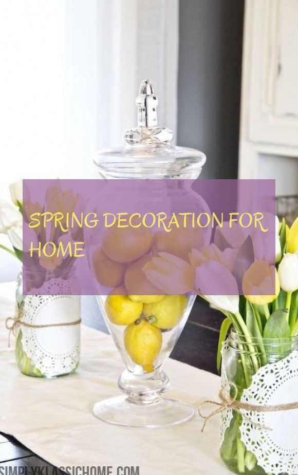 spring decoration for home